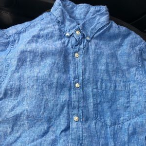 Men's J Crew Linen Shirt